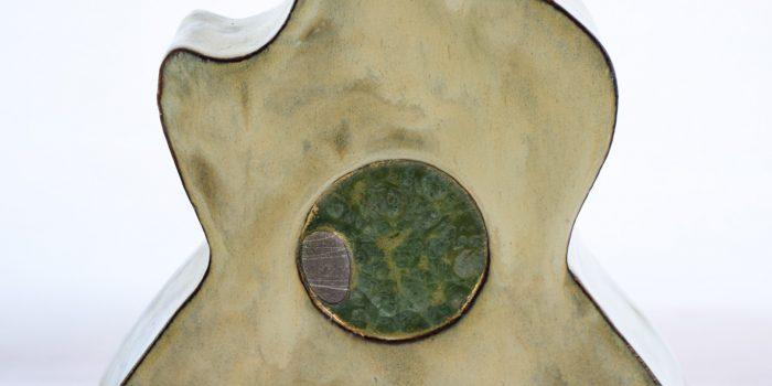 043 FRONTE Vaso Chitarra Marina Rizzelli Ceramica