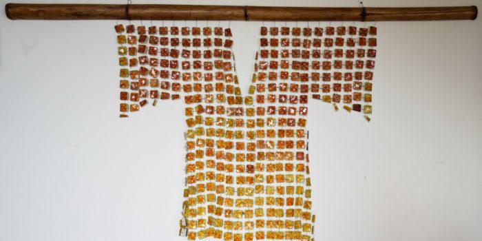 047 Kimono in Porcellana Marina Rizzalli Scultura